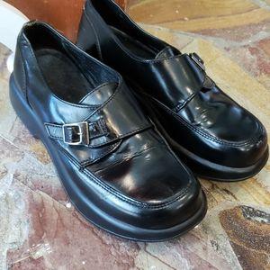 Dansko Buckle Top Shoes Size 38 or US 8